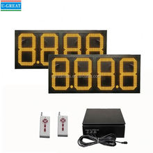 New product RF remote control IP65 waterproof outdoor signboard design