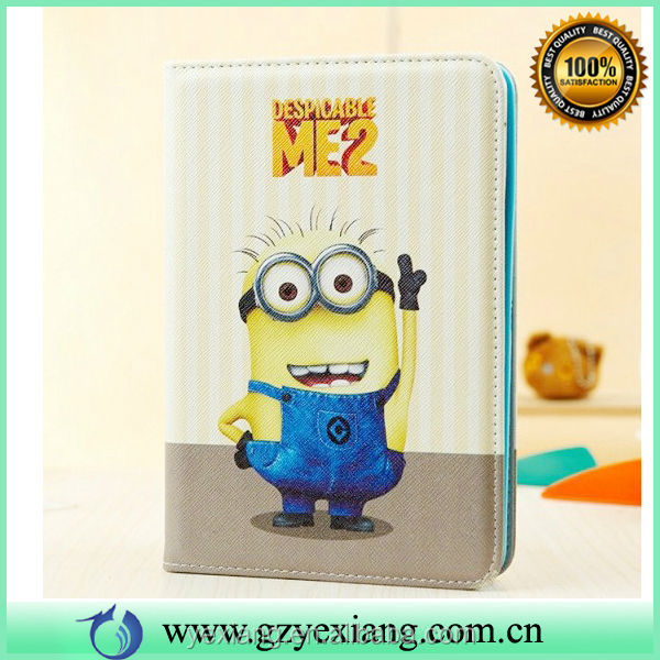 High Quality Cute Tablet Leather Case For iPad Mini Back Cover