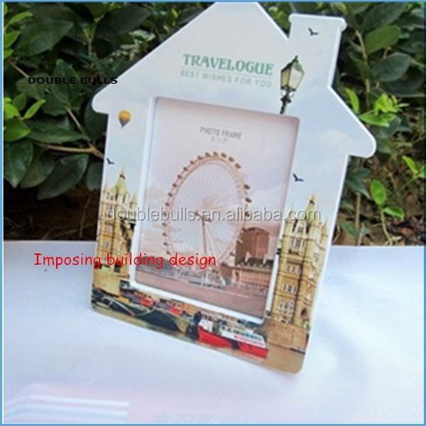 Custom Imposing Building Picture Frame / Photo Frame