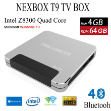 New Model NEXBOX T9 Intel Z8300 4GB/64GB TV Box Set Top Box With Wifi And HD Output