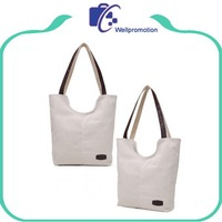 Durable Canvas Eco Friendly Cotton Shoulder