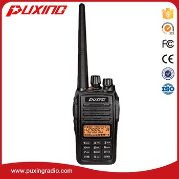 dPMR radio PX-568D IP67 compact design durable housing VOX ANI identification code antidroping
