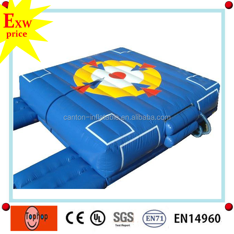 factory price high quality safty high jump mats,inflatable jump air bag for skiing for sale