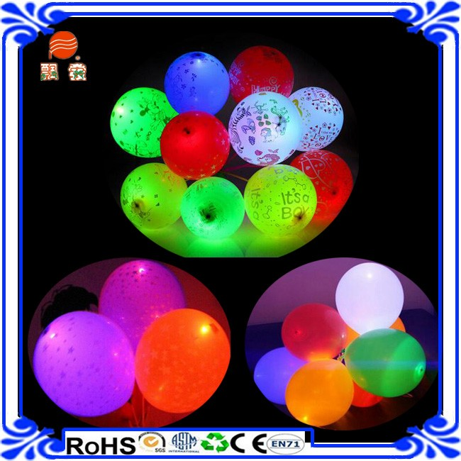 High quality wholesale Party Decoration Led Latex Balloons China