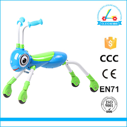 SCOOTER GIFT FOR CHILDREN COLORFUL SCOOTER 4 WHEELS WITH MUSIC AND LIGHT