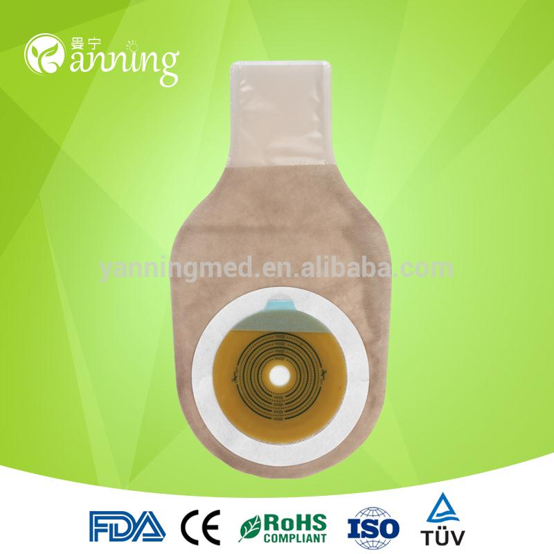sterile ostomy pouch,clip colostomy bag,ostomy bag care