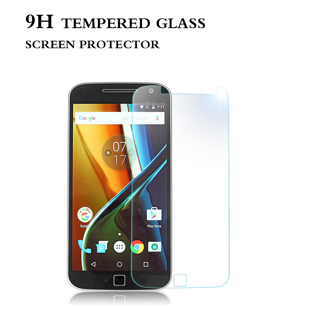 Axidi brand premium explosion-proof tempered glass film for Motorola Moto G4 Plus screen protector