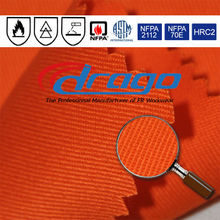 EN 11612 100% fireproof cotton fabric supplier for industrial workwear