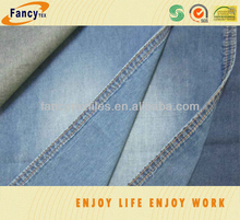 100pct combed cotton indigo denim fabric for shirting