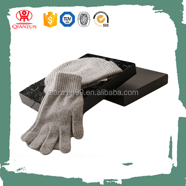 Wholesale Cashmere Wool Knit Scarf Mittens Glove And Hat Set