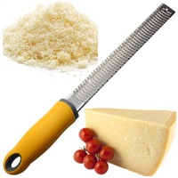 hot sales cheese zester microplane grater lemon zester use for Citrus Hard Ginger Cinnamon Nutmeg Chocolate Vegetable & Spices