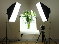 Four lamp holder/softbox lamps/photography studio suit/film/portrait clothing photo equipment as the fill light