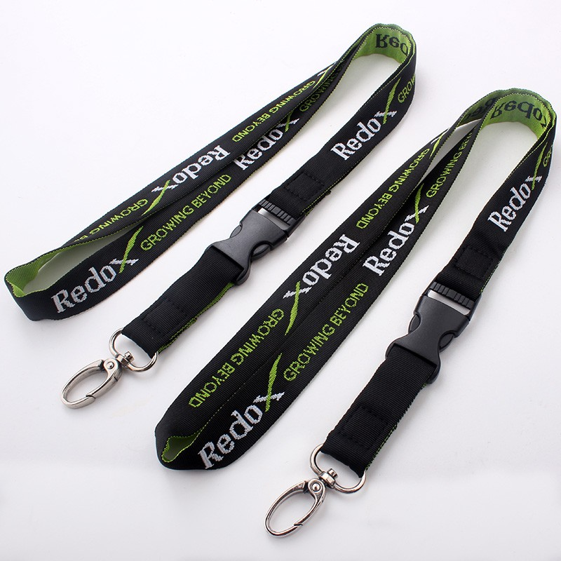 Free sample key chain/cell phone lanyards gift label safety breakaway neck strap wholesale
