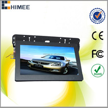 HQ150-1B 15 inch lcd black new panel roof mounted advertising module video audio players for bus taxi car train subway
