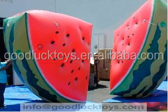 VC inflatable fruit model/pvc inflatable apple/inflatable adverting products