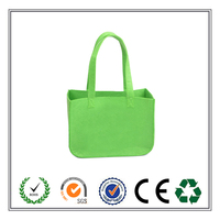 bright colour fashion stylish handmade felt tote bag China hot selling;high quality felt tote bag
