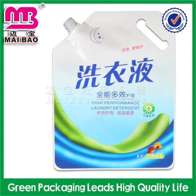 Food packaging and other usage spout pouch for clay mask