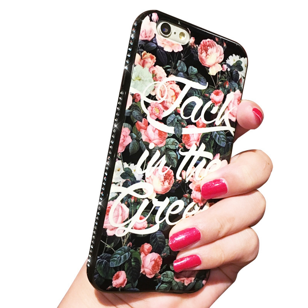 Mobile Phone Accessories, Flower Painting Mobile Phone Case