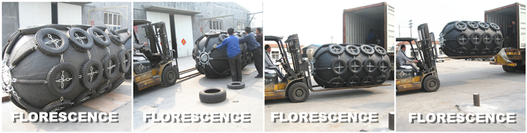 CCS Certificate Floating Pneumatic Rubber Ball Fenders Made In China