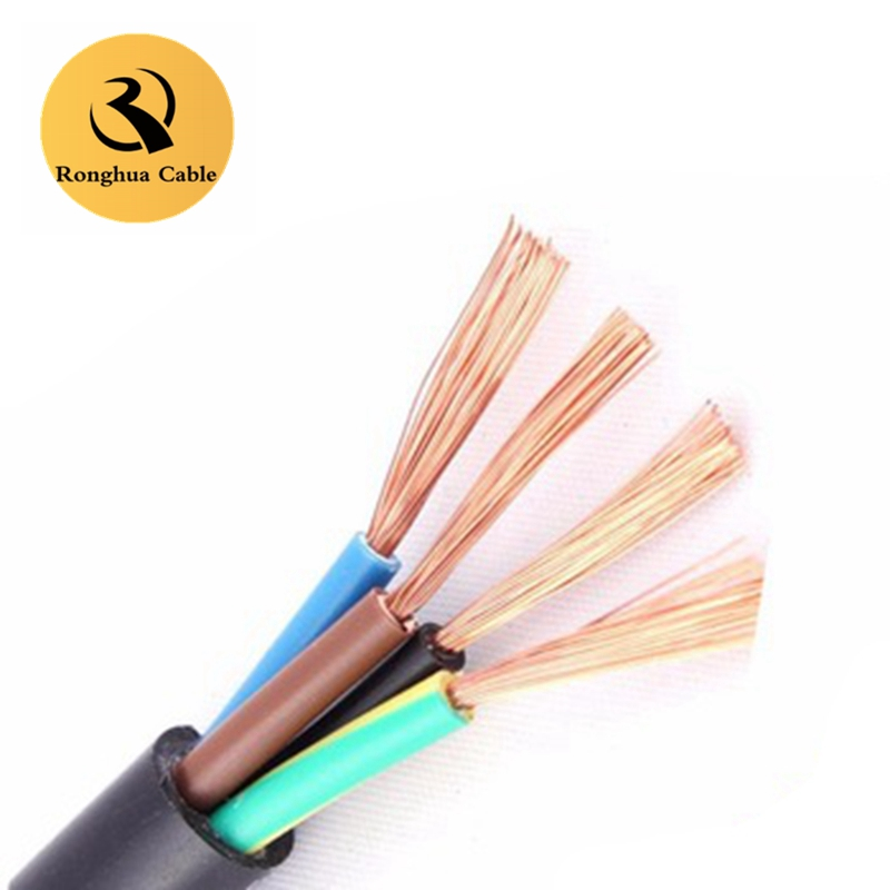 ultraviolet resistant rubber black 25mm2 300amp copper battery cable manufacturer