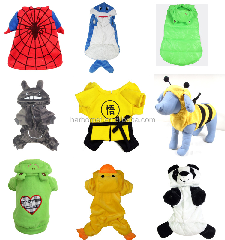 Lovely Cartoon Dog Clothes spiderman dog clothes