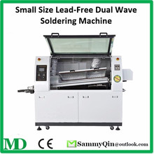 Small Size Lead-Free Dual Wave Soldering Machine