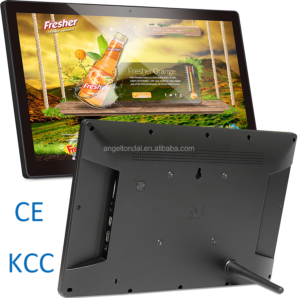 15.6 inch 3840x2160 4K tablet with HDMI output port