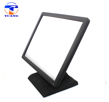 15 inch lcd monitor computer screen with metal stand
