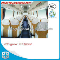 good looking bus passenger seat for bus CE certificate 440mm width ZTZY3210