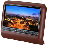 Car 9'' headrest dvd 16:9 LCD monitor 9 inch car headrest dvd player with Game