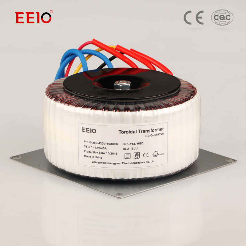 Made in China 12v 220v 300va toroidal transformer for from famous supplier