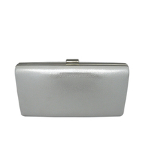 New Fashion Lady Evening Bag Shining Silver Large Capacity Clutch Bag