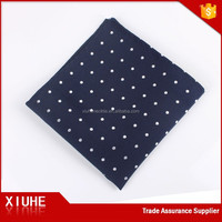 Hot Sale Stylish Wonderful Polyester Pocket Square With Polka Dots
