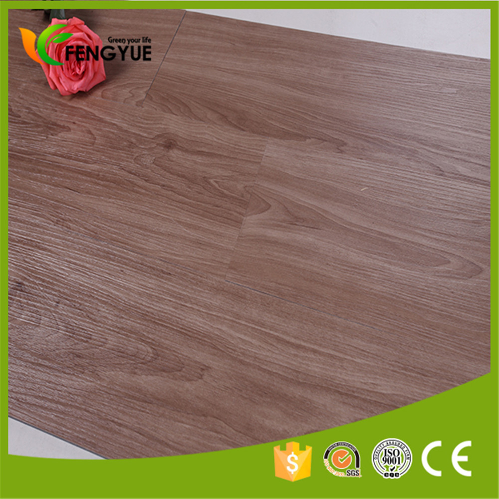 vinyl plank flooring/plastic pvc flooring wood look with all colors and it used for indoor /bathroom/ kitchen