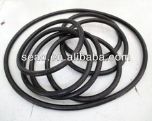 NBR/FKM/EPDM/Colorful FDA silicone rubber o rings flat rubber silicone o ring