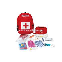 Emergency backpack earthquake disaster survival first aid kit with CE&FDA