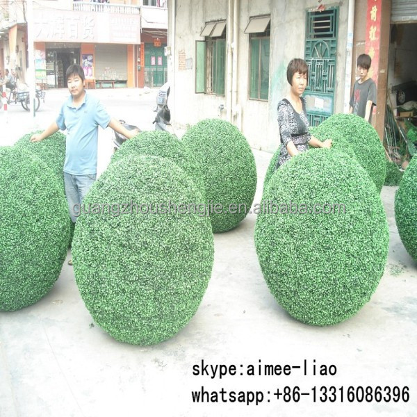 Q112052 artificial grass ball topiary party decoration boxwood ball ornaments artificial topiary
