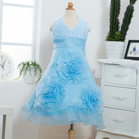 2014-2015 alibaba popular red royal blue wholesale factory price lace hot pink cocktail dress for children