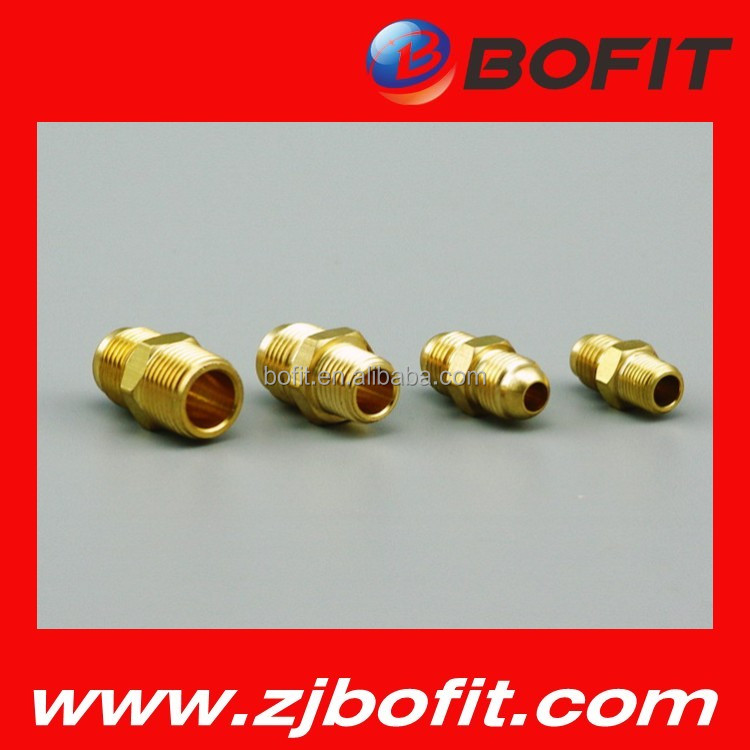 Hot selling copper pipe tube fitting solid brass