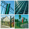 design of folds iron fencing for homes( factory direct supply),canada temporary fence/ muro con pliegues,cerca temporal