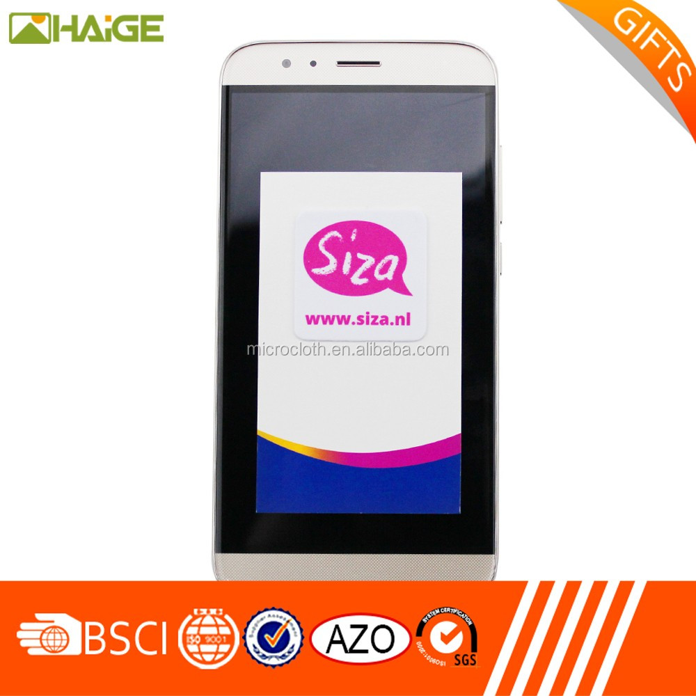 Changzhou manufacturer smartphone sticky microfiber screen cleaner china suppliers