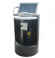 Easy operation mini enclosed fiber laser marking machine price with cask type for promotion