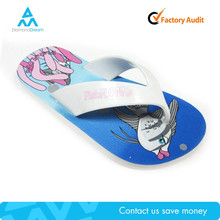 Factory manufacture summer cheap colorful flip flop personalize