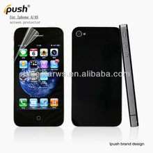 Factory price and professional clear screen protector cover for apple iphone4,Screen Guard for iphone4