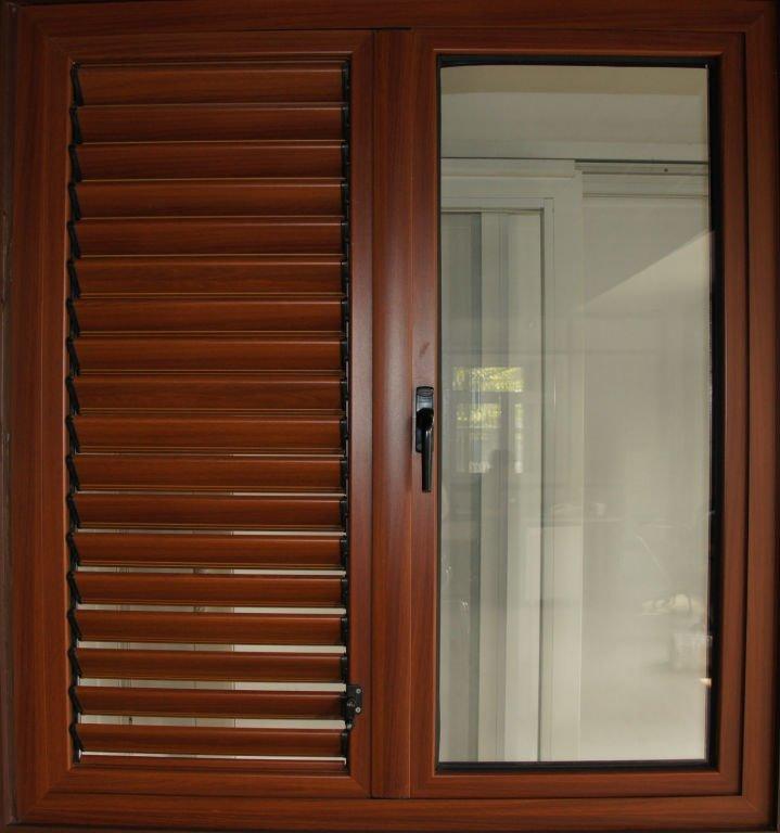 Ventana de persianas de aluminio ventanas identificaci n - Persianas de aluminio ...