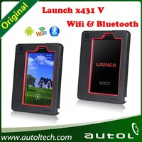 2015 new released original auto 100% Original Launch X431 V Wifi Global Version Full System Scanner = X-431 5 Online Update