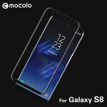 In Stock High Quality 3D Curved Screen Guard for Samsung Galaxy S8 Tempered Glass Protector
