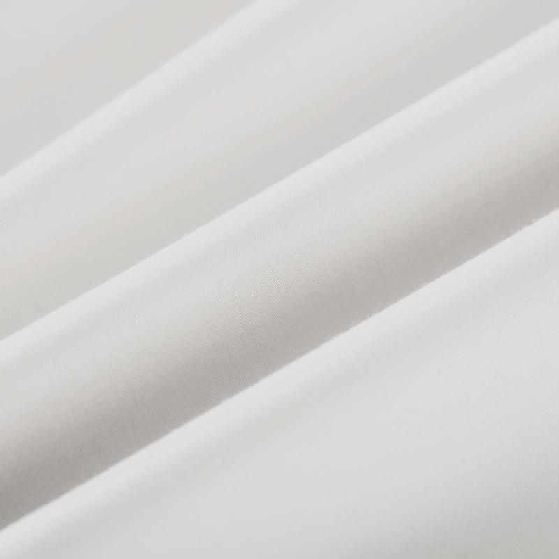 Factory Supplier Wholesale Bedding Fabric White Plain Cotton Fabric