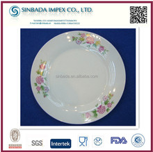 hot sale cheap bulk porcelain 8inch soup plate