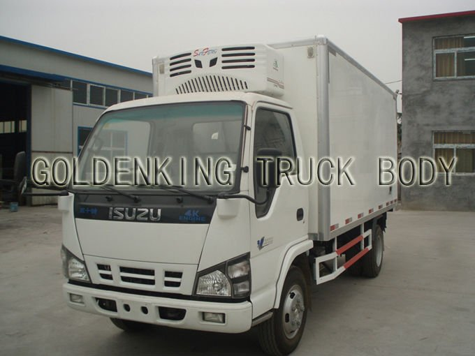 ISUZU 600P refrigerated truck